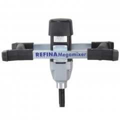 Refina plaster mixer handle (Refina mm21 mega mixer) on white background