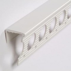 15mm Plasterboard Plastic Edging Bead