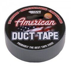 Carton of 12 American Silver Duct Tape