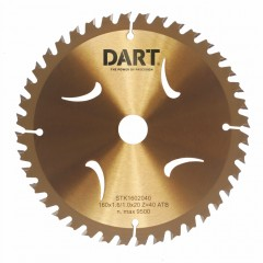 DART Gold ATB Wood Saw Blade 165Dmm x 20B x 24Z