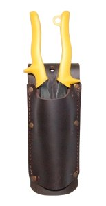 Astra Cutting Edge Swinging Hammer Holder Holster in Saddle Leather for Tool Bel